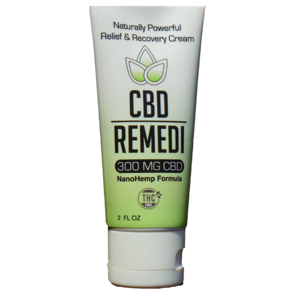 CBD Remedi Natural Hemp Extract Pain Relief Cream